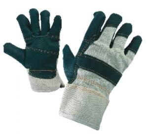 Работни ръкавици от лицева телешка кожа и плат LINNET Код: 077090