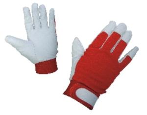 Работни ръкавици GILT от лицева агнешка кожа и трико Код: 077084