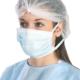 Санитарна маска с връзки SANI-3 Код: 072050