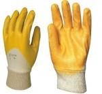 Работни ръкавици потопени в нитрил