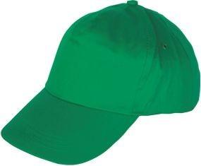 Шапка с козирка LEO /зелена/