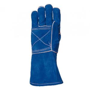 Работни ръкавици за заварчици и леяри от телешка кожаКод: 28092