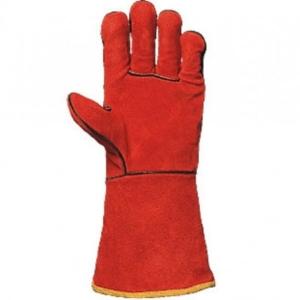 Работни ръкавици за заваряване от телешка кожаКод: 28090