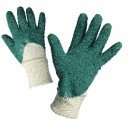 Работни ръкавици потопени в каучук