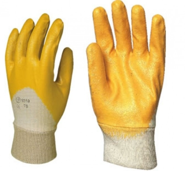 Работни ръкавици потопени в нитрил Код: 28087