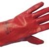 Работни ръкавици PVC с подплата от памук, REDSTART 27 Код: 077124