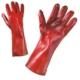 Работни ръкавици PVC с подплата от памук, 35 см Код: 077125