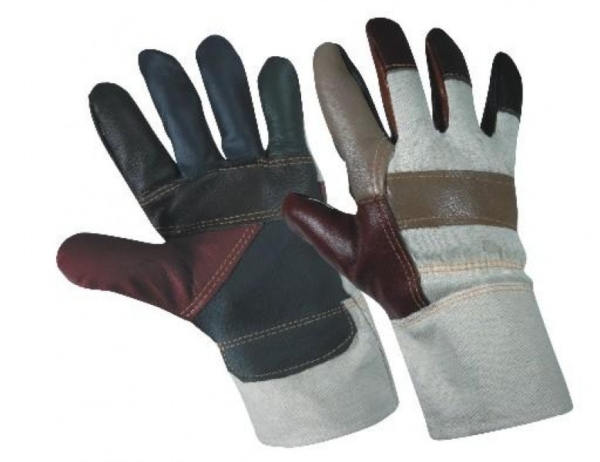 Работни зимни ръкавици от телешка кожа и плат FIREFINCH Код: 077062