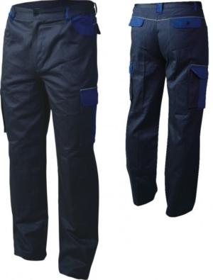 Работно облекло - Работен панталон със светлоотразителен кант ASIMO /цвят син/Код: T-002 B