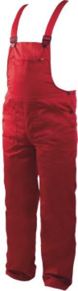 Работно облекло - Работен полугащеризон REX-BA /цвят червен/ Код: 078409