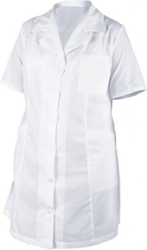 Медицински дрехи - Дамска манта с къс ръкав M44 Код: 078595