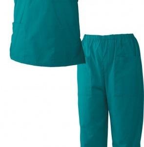 Медицински дрехи - Мъжка туника с панталон M3/зелен/ Код: 078590
