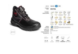 Работни обувки Panda Mistral S3PP