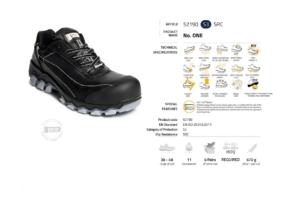 Висок клас обувки Panda No. One S3