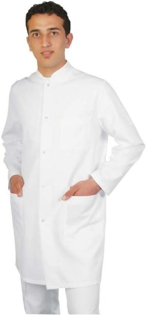 Медицинска мъжка манта с дълъг ръкав. Код 4007