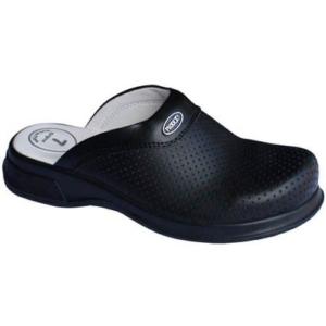 Черни ортопедични медицински чехли. Код: 5021