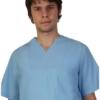 Светло син мъжки медицински комплект. Модел 2005