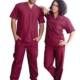 Медицински комплект в цвят бордо модел 078588