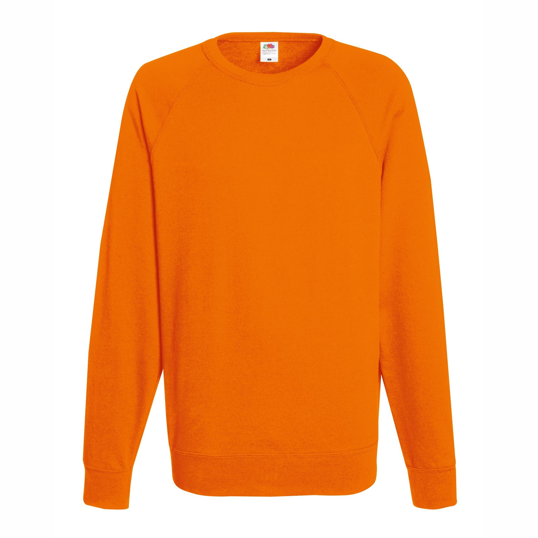 Мъжка блуза с дълъг ръкав модел ID10 (оранжева)