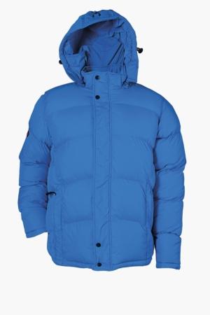 Зимно работно яке модел MESLAY (син цвят)