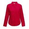 Дамска риза с дълъг ръкав ID63 (червена)