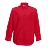 Класическа мъжка риза с дълъг ръкав ID 64 (червена)