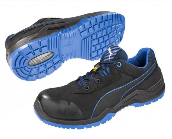Работни обувки- цели PUMA ARGON BLUE LOW S3 ESD SRC